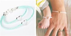 Mommy and Me Handmade Friendship Bracelets