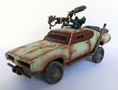 Mad Mork: A Fury Road-Inspired Ork Log - Page 4