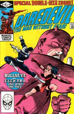 Get ready for Netflix's new series 'Daredevil' with iconic comic book covers.