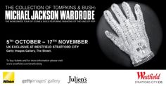 *FINAL WEEK SPECIAL*    The Collection of Tompkins and Bush Exhibition in London is now in it's FINAL WEEK and closes This Saturday 17th November. To Ensure fans get ONE LAST CHANCE to see Michael's items before the auction, tickets are now £5!!!