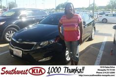 https://flic.kr/p/GuBh1W | Congratulations Nikia on your #Kia #Optima from Ash Chowdhury at Southwest Kia Mesquite! | deliverymaxx.com/DealerReviews.aspx?DealerCode=VNDX