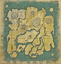Caves Ark Survival Evolved Below You Will Find A Map For The