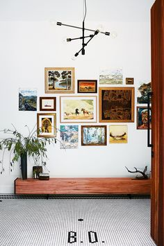 Rustic Modern entry