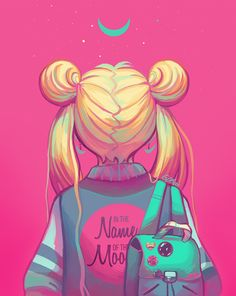 Casual moon // sailor moon fashion usagi