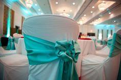 pretty chair sash #weddings #decor #hawaiiprincessbrides