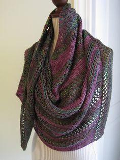 Desert Blossom shawl knit by autumnsky on Ravelry.