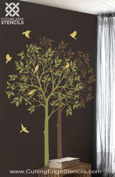 Fall into Foliage with Cutting Edge Stencils « Cutting Edge Stencils Blog