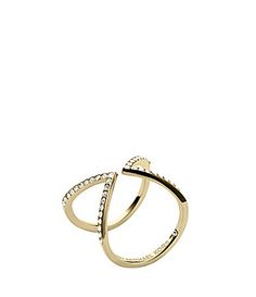 12094ca496a75d Elegant pave embellished ring available at Silver Tree Jewellery with free  P&P and a wonderful free gift wrapping service. Michael Kors ...