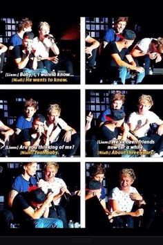 Niam is super cute <333 I watch this over and over again. Louis and Niall are the bestest
