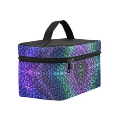 Dragon Skin Cosmetic Bag/Large (Model 1658)
