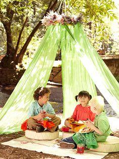diy play tents