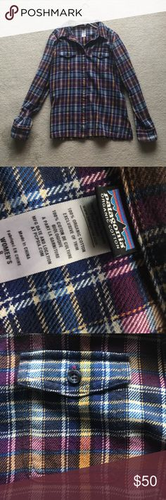 NWOT Patagonia cozy flannel Soft, warm flannel. Perfect for any winter or summer! Patagonia Tops Tees - Long Sleeve