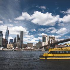 Watertaxi  #nyc #skyline #watertaxi