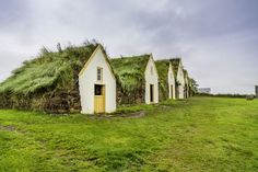 Iceland's turf houses are a weather-savvy architectural design. These little cottages keep out the cold brilliantly.