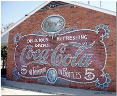 Mural at Obys of Starkville, Mississippi