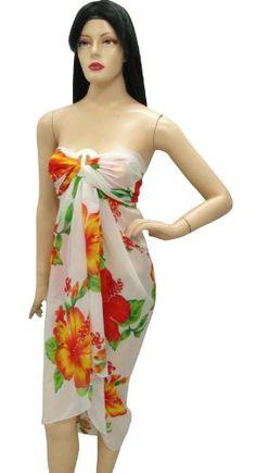 La Leela Floral Printed Swim Cover up, $14