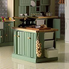 This is the furniture I used on my beacon hill kitchen. I did modify it a little...