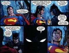 Bruce tells Kal-El