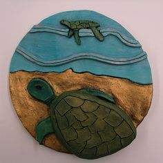 Animal in its Environment, Ceramic with Rub-n-Buff, Grade 7,8