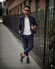 Reebok Classic Harman from DSW This post was sponsored by Reebok as part of an Influencer Activation for Influence Central and all opinions expressed in Suits And Sneakers, Wardrobe Closet, Pull Off, Reebok, What To Wear, Guy Style, Style Inspiration, Mens Fashion, Costumes