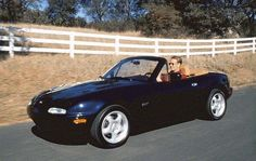 1996 mazda miata - had one of these but never get a black on black convertible - very HOT!!!!!