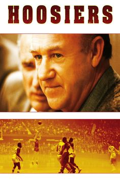 Hoosiers is a 1986 sports film written by Angelo Pizzo and was directed by David Anspaugh. It tells the story of a small-town Indiana high school basketball team that wins the state championship. It is loosely based on the Milan High School team that won the 1954 state championship. Gene Hackman stars as Norman Dale, a new coach with a spotty past. The film co-stars Barbara Hershey and Dennis Hopper, whose role as the basketball-loving town drunk earned him an Oscar nomination.