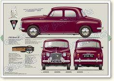 Car Rover, Auto Rover, Retro Cars, Vintage Cars, Auto Vintage, Automobile, Car Prints, British Sports Cars, Classic Mercedes