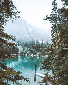 Joffre Lakes hiking and camping near Pemberton, BC Joffre Lake, Hiking Trails, Winter Wonderland, Photo Credit, Vancouver, 400m, Camping, Mountains, Lakes