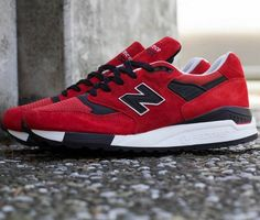 New Balance 998 – Red / Black