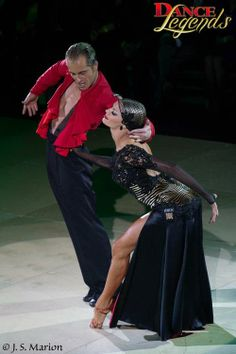 Yulia and Riccardo paso- love the position