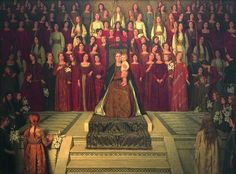 The Mother Enthroned by Thomas Cooper Gotch