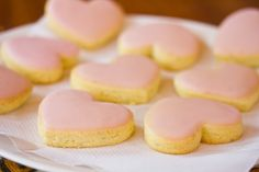 Citrus sweetheart biscuits - for thermomix and regular recipe... Divine and oh so pretty...