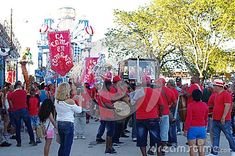 Loma district of small Cuban town Guayos drums rumba rhythm in front of their festival float during Parrandas, a traditional carnival-like street party in hold each year during Christmas in central Cuba Festivals Around The World, Cuban, Drums, Caribbean, Carnival, Fair Grounds, Around The Worlds, America, Traditional
