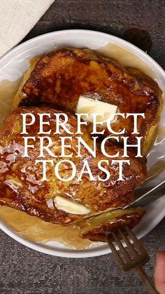 Best Breakfast Recipes, Sweet Breakfast, Brunch Recipes, Brunch Dishes, Breakfast Dishes, Food Dishes, Amazing Food Videos, Snacks Saludables, Cheesy Recipes