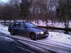 My BWM. The first German car I've owned, and it's very good. Here seen during a break in a winter drive from Bristol to Uxbridge in less than perfect conditions. Bristol, Conditioner, German, Explore, Cars, Winter, Deutsch, Winter Time, German Language