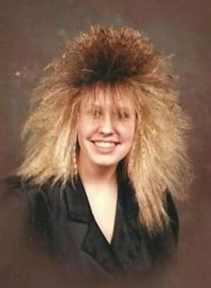 Bad Hair Day, 1980s Hair, Eighties Hair, Vip Fashion Australia, Bad Photos, Great Hairstyles, Hairstyles Haircuts, Hairstyle Ideas, Glamour Shots