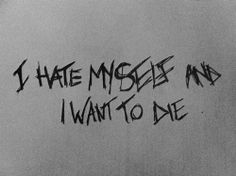 death depressed depression sad suicidal suicide quotes anxiety hate dark self harm cutting cuts die sadness darkness self destruction hate myself i want to DIE depressive want to die selfharm depressing quotes Suicide Quotes, Heartbreaking Quotes, Tumblr Me, I Want To Cry, Dead To Me, Depression Quotes, Sad Quotes, Qoutes, It Hurts