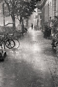 it never rains around here