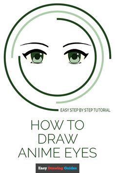 Eye Drawing Tutorials - Draw Anime Eyes - Eays Ways to Learn How to Draw Eyes - How To Draw A Realistic Eye - Shading Eyes, Coloring Techniques and Step by Step Tutorials for Eye Drawings Learn To Draw Anime, How To Draw Anime Eyes, Draw Eyes, Easy Drawing Tutorial, Drawing Tutorials For Kids, Chibi, Drawing Lessons, Drawing Tips, Drawing Ideas