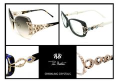 Brilliant sunglasses and optical frames with Swarovski crystals
