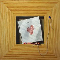"Jorge Alberto, ""Love,"" 12x12, oil on panel -- at Principle Gallery"