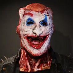 Creepy Halloween, Halloween Masks, Halloween Makeup, Halloween Cosplay, Halloween Photos, Happy Halloween, Halloween Party, Mascaras Halloween, Joker Face
