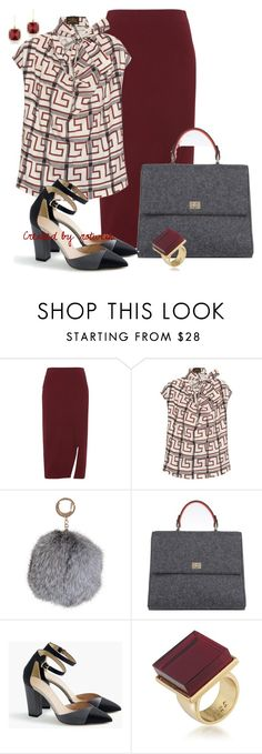 """""""Chloe"""" by rotwein ❤ liked on Polyvore featuring Whistles, Vivienne Westwood Anglomania, Humble Chic, BOSS Hugo Boss, J.Crew, Trina Turk and Anne Sisteron"""