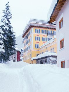 Hotel Müller Pontresina - Mountain Lodge