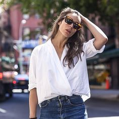 Have You Mastered This Supereasy Styling Trick For Button-Downs?