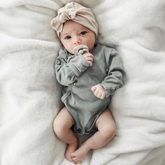 Some cuteness to brighten up your Tuesday. (Find our soft organic Kimono Bodysuit in lots of colors in the Organic Cotton Basics Collection…
