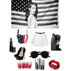 """Lana Del Ray outfit! ❤❤"" by eikerg on Polyvore"