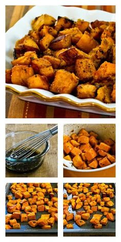 Roasted Butternut Squash with Rosemary and Balsamic Vinegar Recipe on Yummly