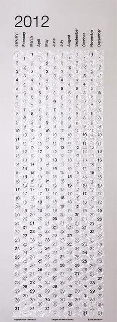 Bubble Calendar - I need to make one