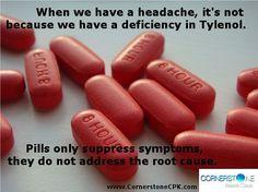 Pills suppress symptoms